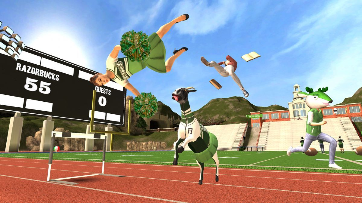 Goat Simulator Roblox Goat Simulator Free Play And Download Didagame Com